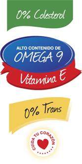 0% Trans - Vitamina E - Omega 9